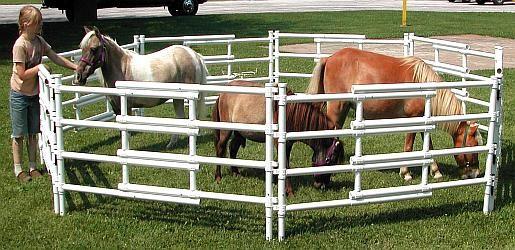 Portable Corral Systems For Horses : Carri lite corral miniature unit shopspur online